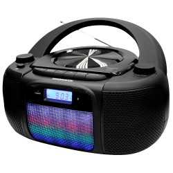 CD Boombox with Color Changing Lights