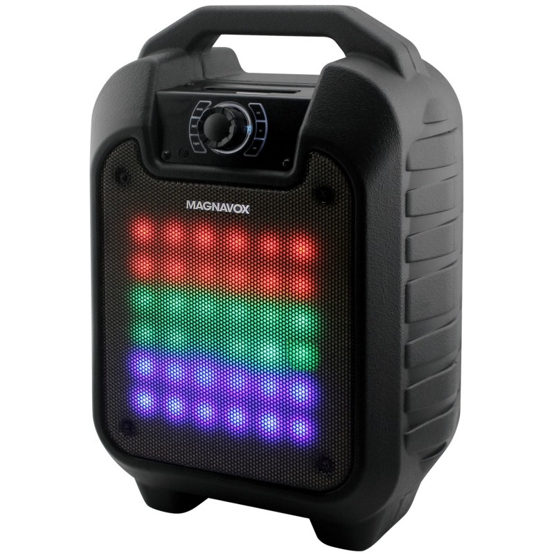 Portable Speaker with Changing Lights and Bluetooth Wireless Technology