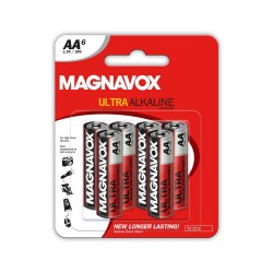 6 pack AA Alkaline Batteries