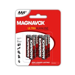 6 pack AAA Alkaline Batteries