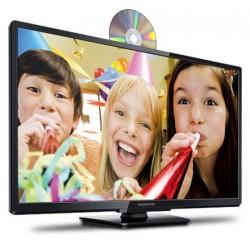 "32"" Class 720p LED LCD HDTV/DVD combo"
