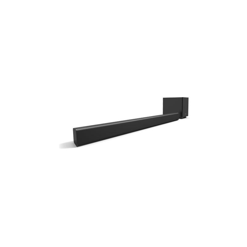 Barra de sonido de 2.1 canales con Subwoofer alámbrico