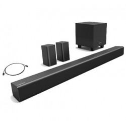 5.1ch Soundbar with Wireless Subwoofer