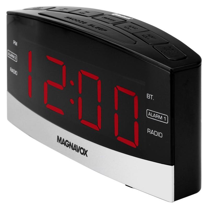 magnavox clock radio. Black Bedroom Furniture Sets. Home Design Ideas