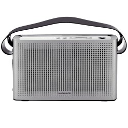 Retro Portable Bluetooth Speaker with USB Charger