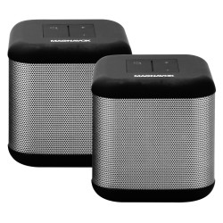 Pair of DSP 360 Bluetooth stereo speakers with Independent and True Stereo Dual Speaker Capabilities
