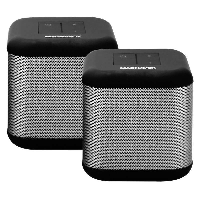 Magnavox Dual DSP 360 Bluetooth Stereo Speakers
