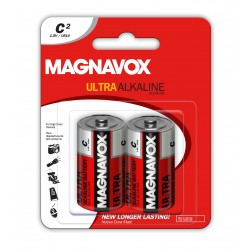 2pack C Alkaline Batteries
