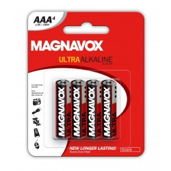 Magnavox  4pack AAA Alkaline Batteries