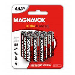 12pack AAA Alkaline Batteries