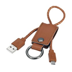 Keychain w/ Micro USB Charging Cable