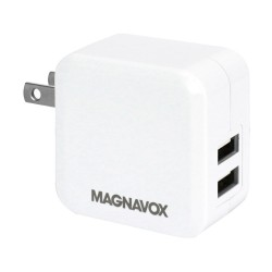 USB Wall Charger with Dual USB Ports