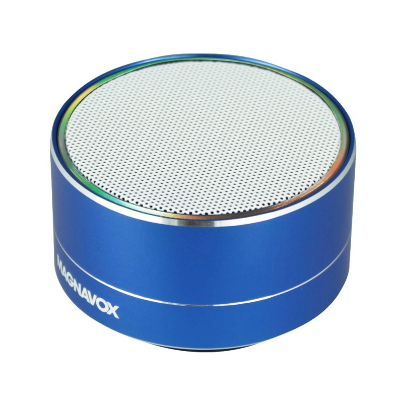 Magnavox Compact Portable Speaker With Decorative Lights