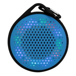 Outdoor Waterproof Speaker with Color Changing Lights