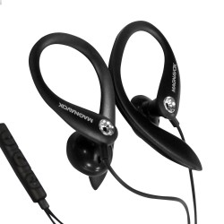 Earhook Headphones with Microphone