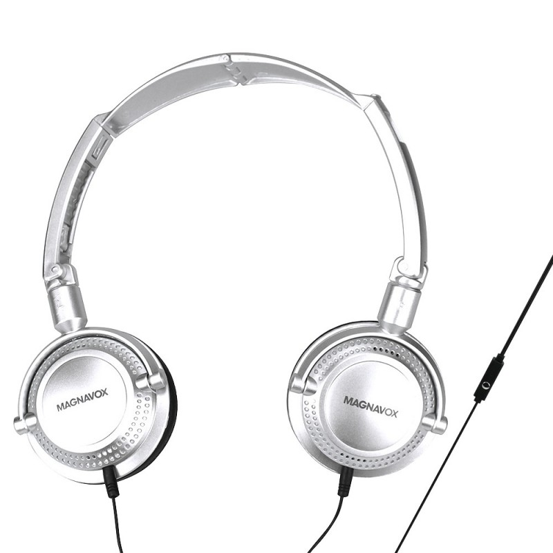 Magnavox Stereo Headphone With Microphones